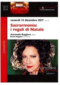 Antonella Ruggiero I Regali Di Natale.Sacrarmonia I Regali Di Natale